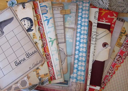 Junket Journal pages