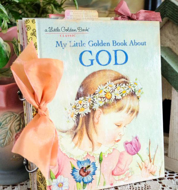 My Little Book about God cover