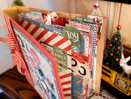 December Story top view