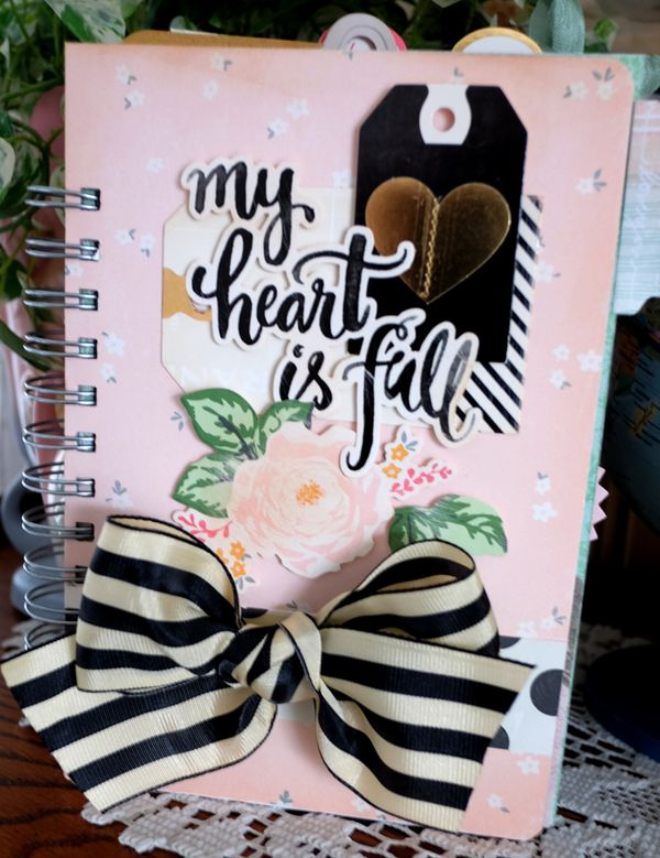 My Heart is Full Journal cover