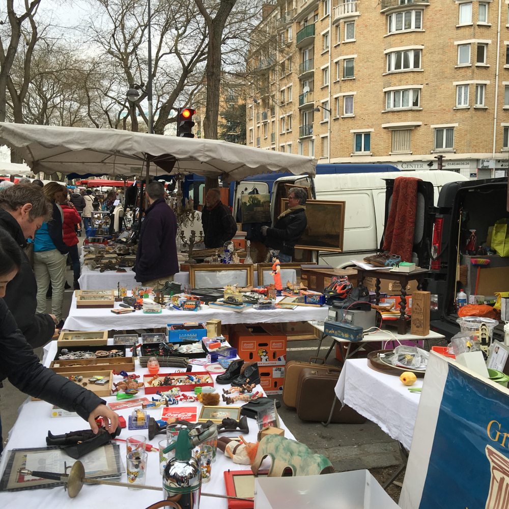 The Memory Bee: May 2 Springtime in Paris - the Paris Flea Market ...