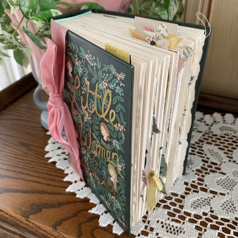 Little Women Altered Book cover