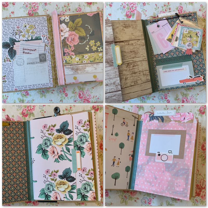 Sunkissed Memories pages