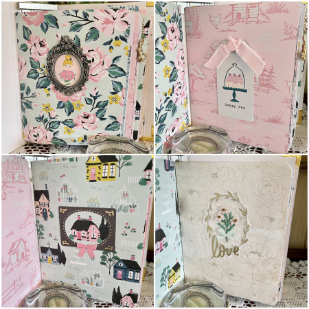 Garden Party notebook covers