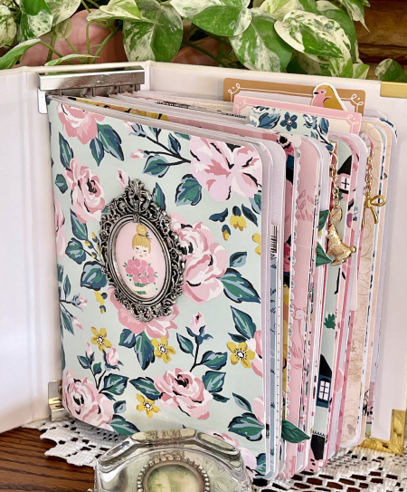 Garden Party notebook cover