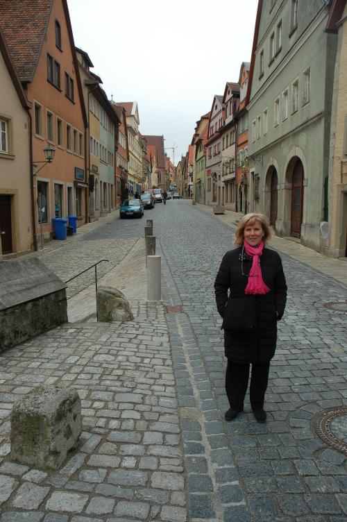 Rothenburg's 600 year old streets