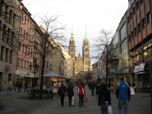 Shopping in Nuremburg